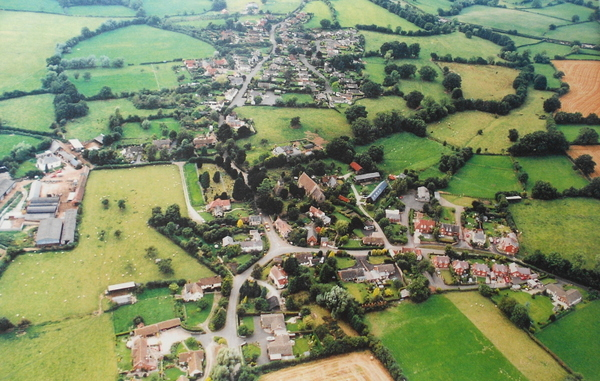 Yarpole aerial view